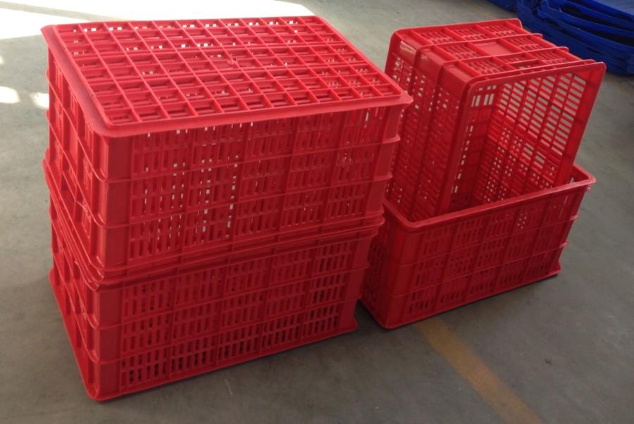 575筐子套疊紅色
