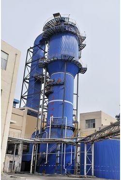 青島黃島熱電廠240t/h鍋爐脫硫濕電工程