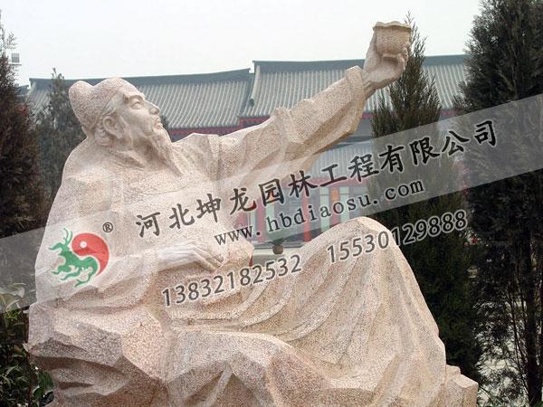 人物石雕099