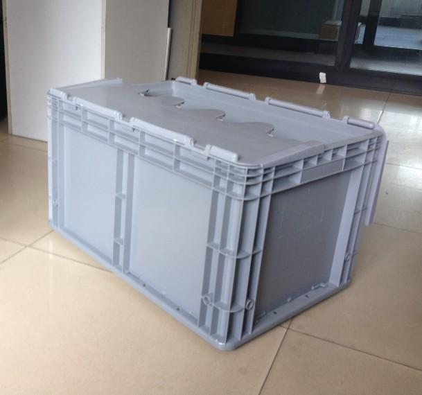 600-340箱子配翻蓋灰色