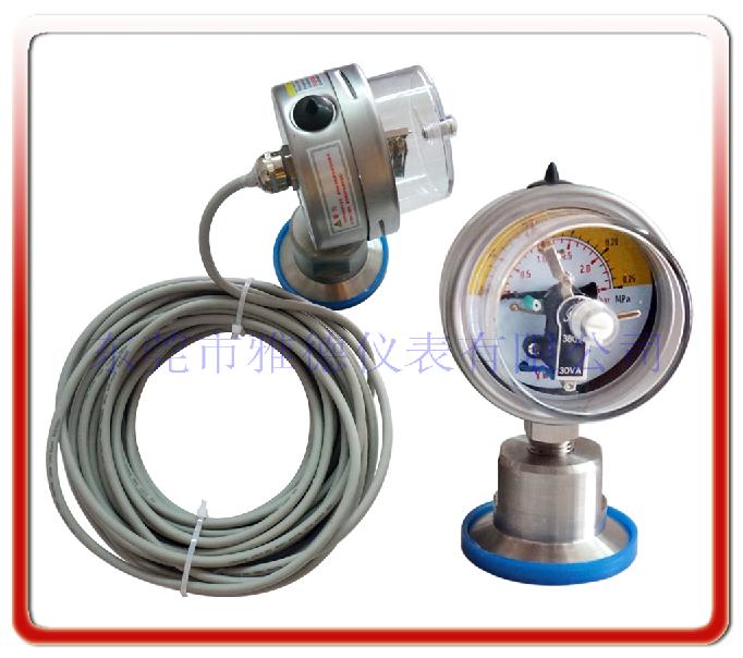60MM衛生型電接點壓力表