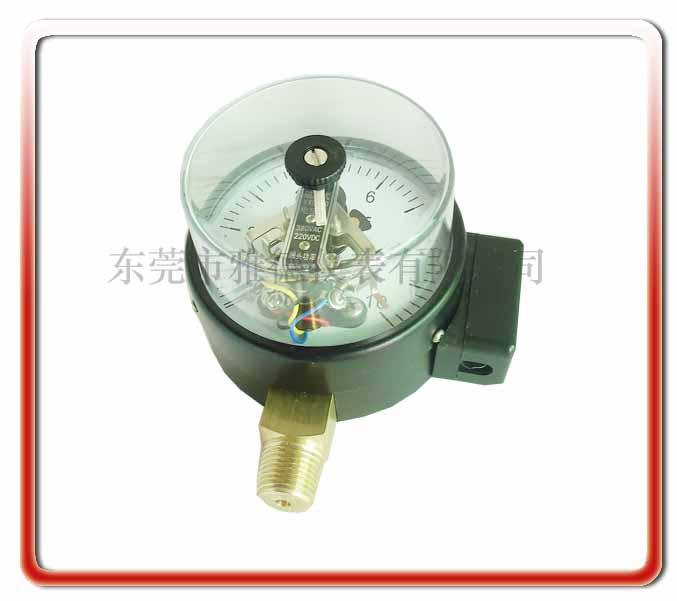 100MM徑向普通電接點壓力表