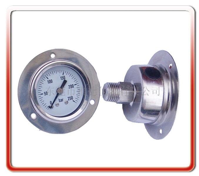 40MM軸全向全鋼壓力表