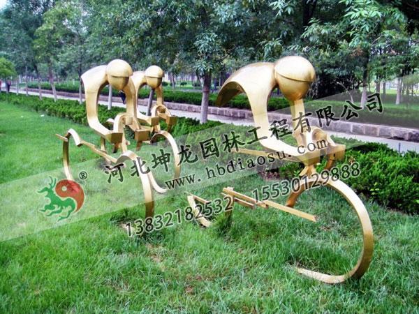 體育不銹鋼雕塑021