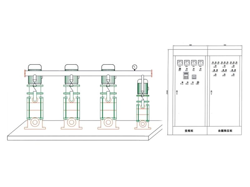 BQJ-3□□KW 一拖三變頻恒壓供水系統(節能產品)
