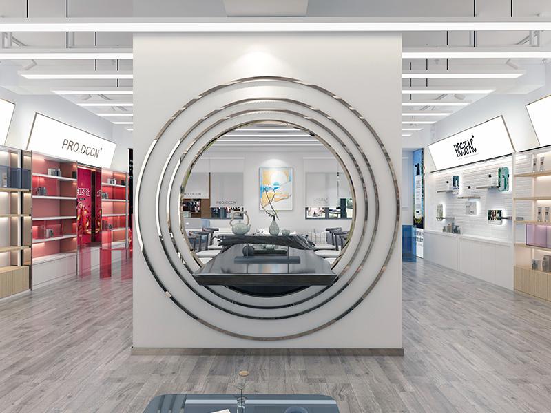 廣州珀萊雅化妝品門店裝修設計