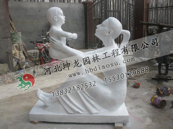 玻璃鋼人物雕塑031