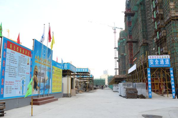 新城天地二期12-14#樓、4#、6#變電所、4#門衛工程