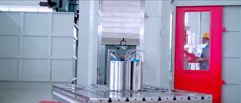 6軸落地鏜銑加工中心