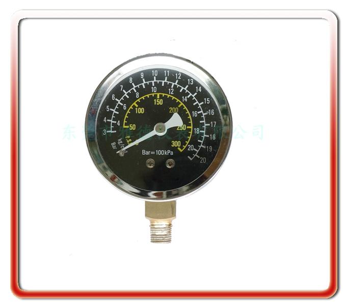 氣(汽)缸測試專用表