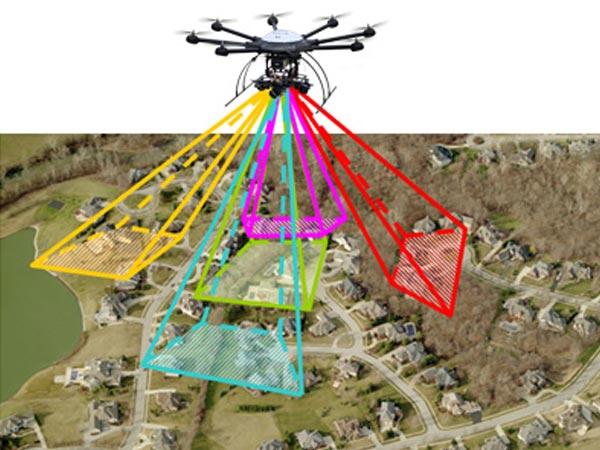無人機傾斜攝影