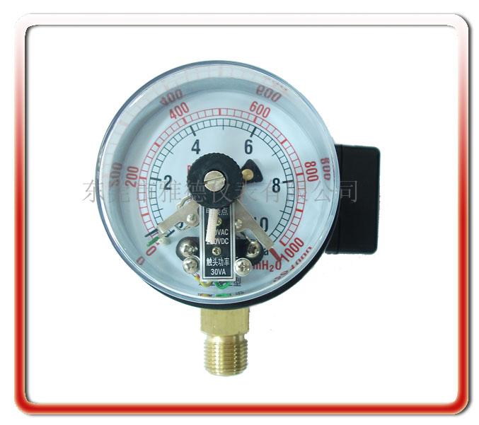 100MM電接點微壓表