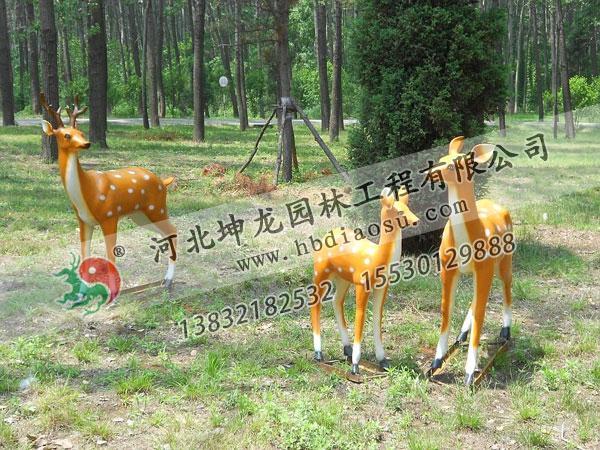 玻璃鋼動物雕塑040