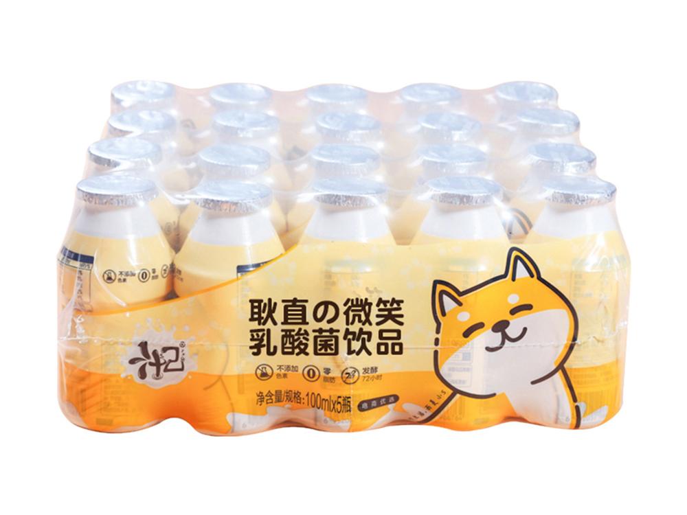 汁己耿直的微笑乳酸菌飲品100ml*20瓶