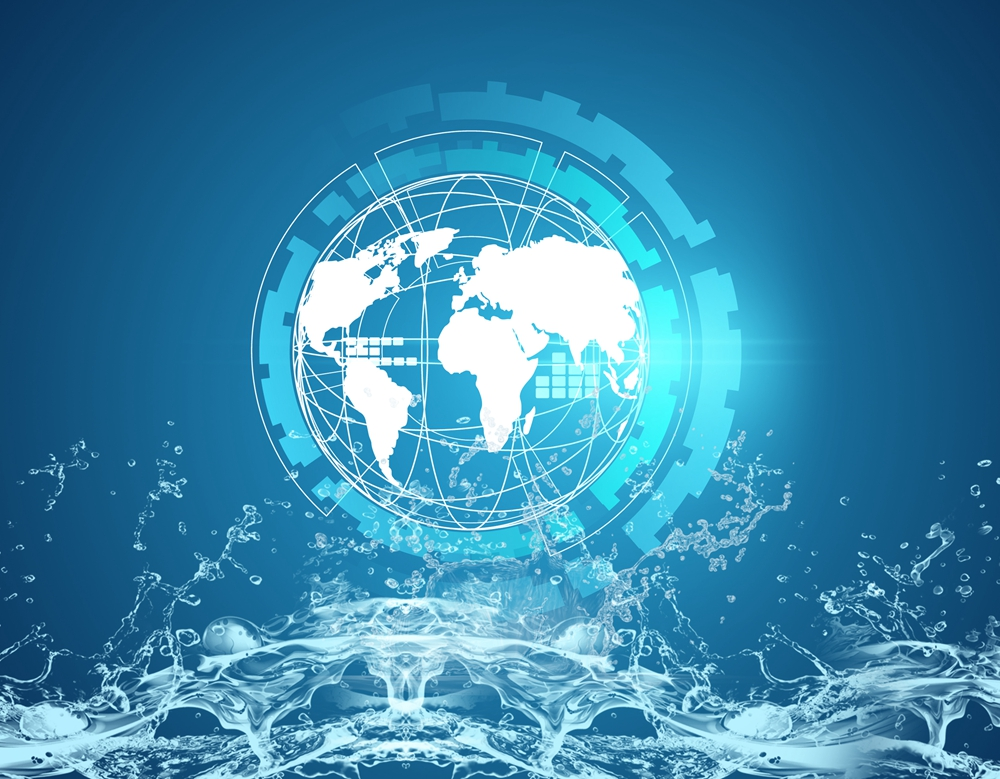 智慧水务产业链代表企业全景生态图