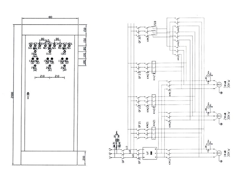 BQJ-3型恒壓變頻組合控制柜(節能產品)