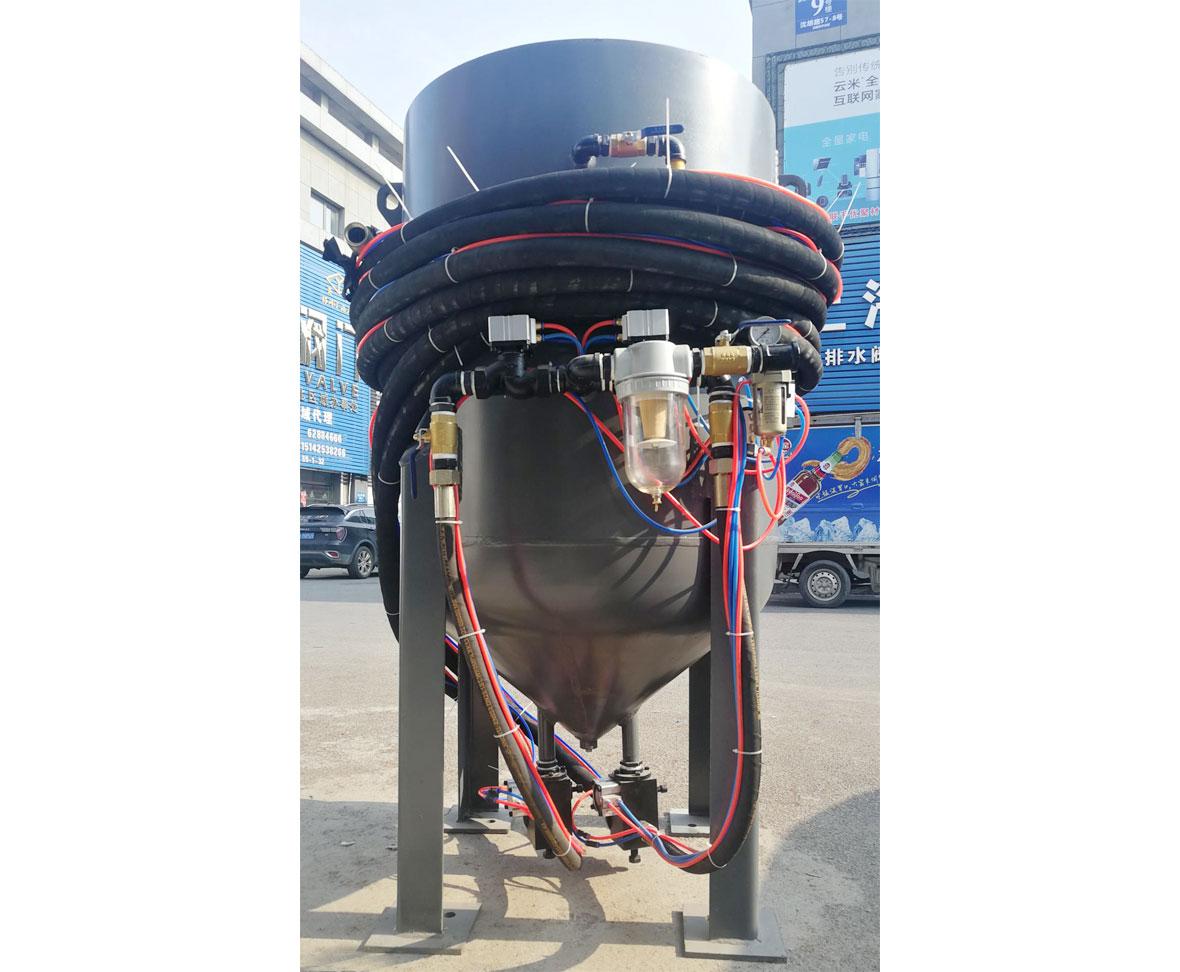 大連長隆建設工程有限公司SR-6230P氣控型雙噴槍噴機