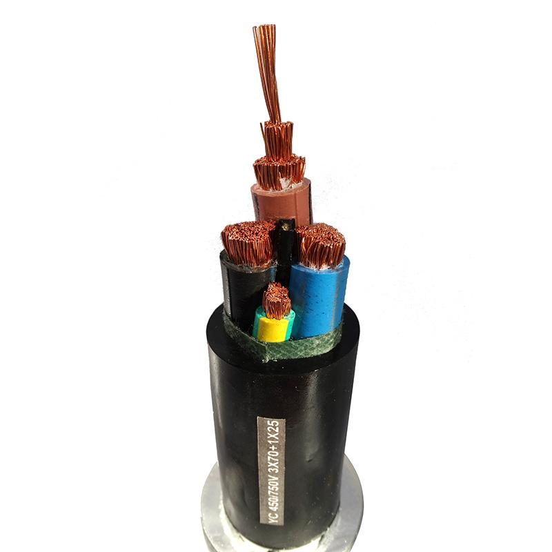 橡套電纜YC