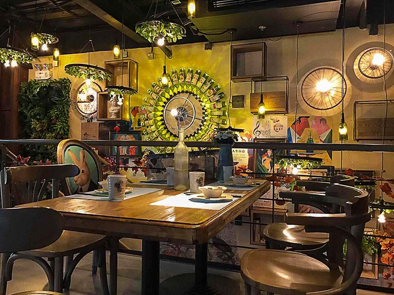 胡桃里音樂餐廳裝修實景圖