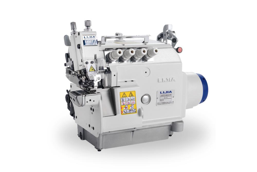 L8400TD 直驱上下差动超高速筒式包缝机系列