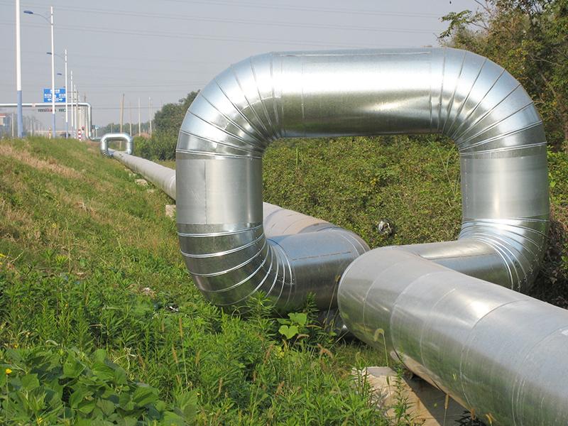 如皋垃圾熱電蒸汽外管