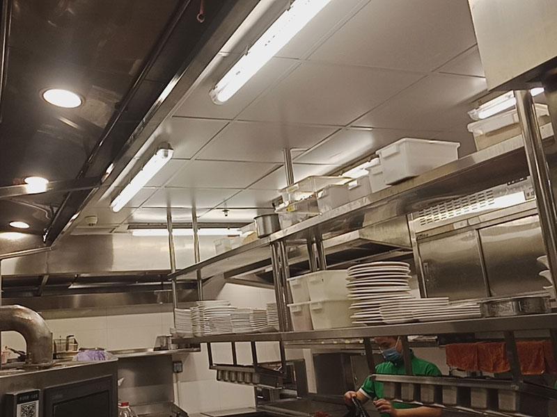 酒店餐廳餐飲店等商用廚房設備廚具清潔殺菌消毒