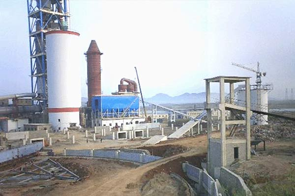 3000T/D水泥生產線工藝設備