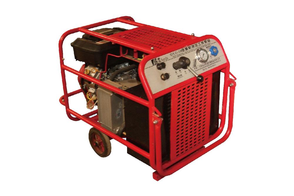 QYZ-18型百利通汽油機液壓工作泵站
