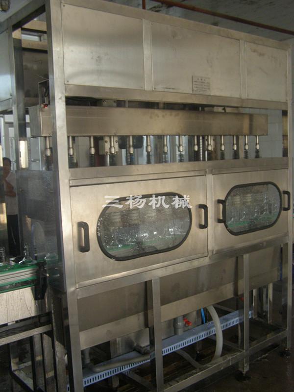 毛刷式內洗瓶機