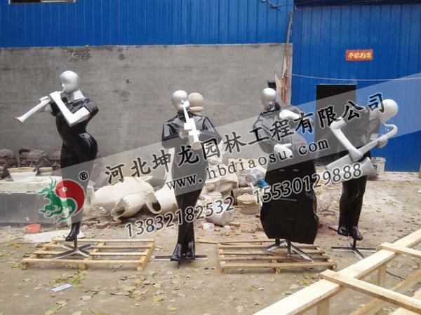 玻璃鋼人物雕塑036