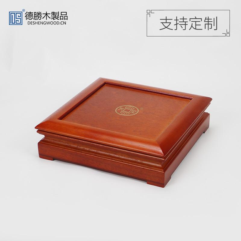 MDF+實木茶葉盒