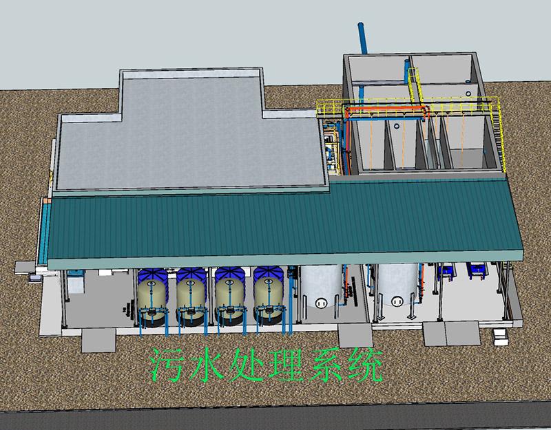 工業污水處理器處理系統-一體化污水處理設備