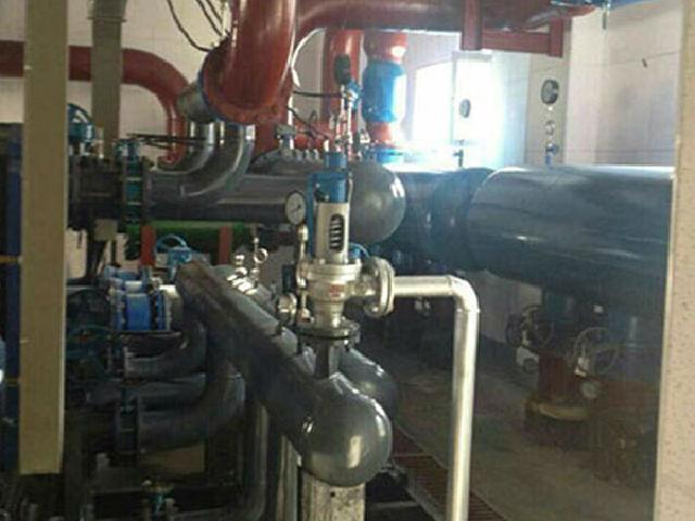 安徽省蚌埠市綠地世紀城換熱機組