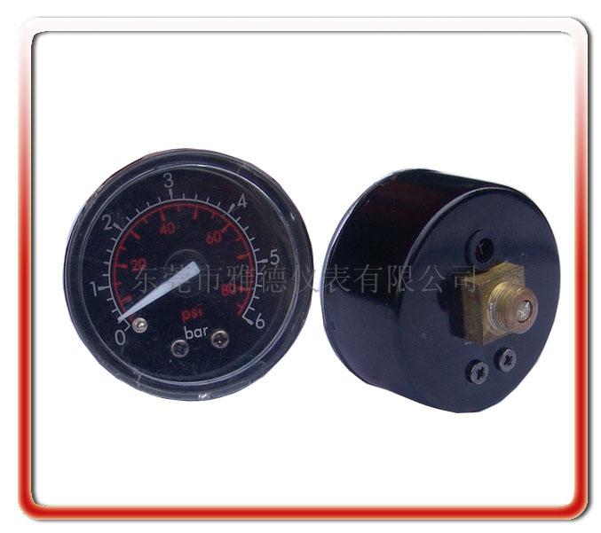 40MM軸向氣泵壓力表