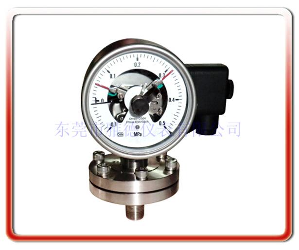 隔膜式防爆電接點壓力表