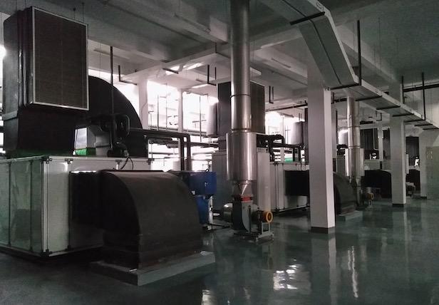 全室空調及排氣抽風系統