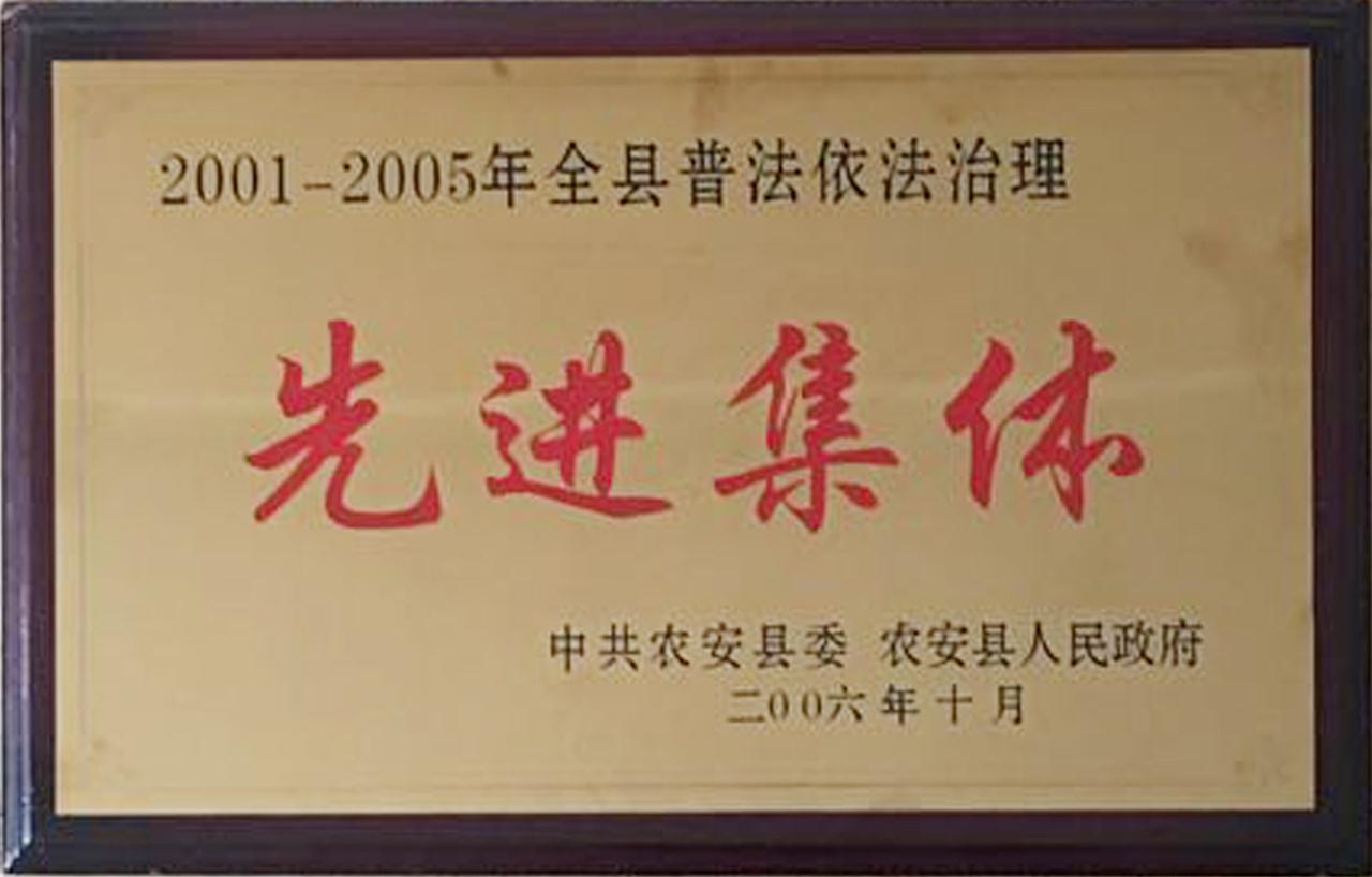 2006年先進集體