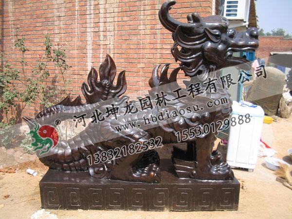 動物銅雕018