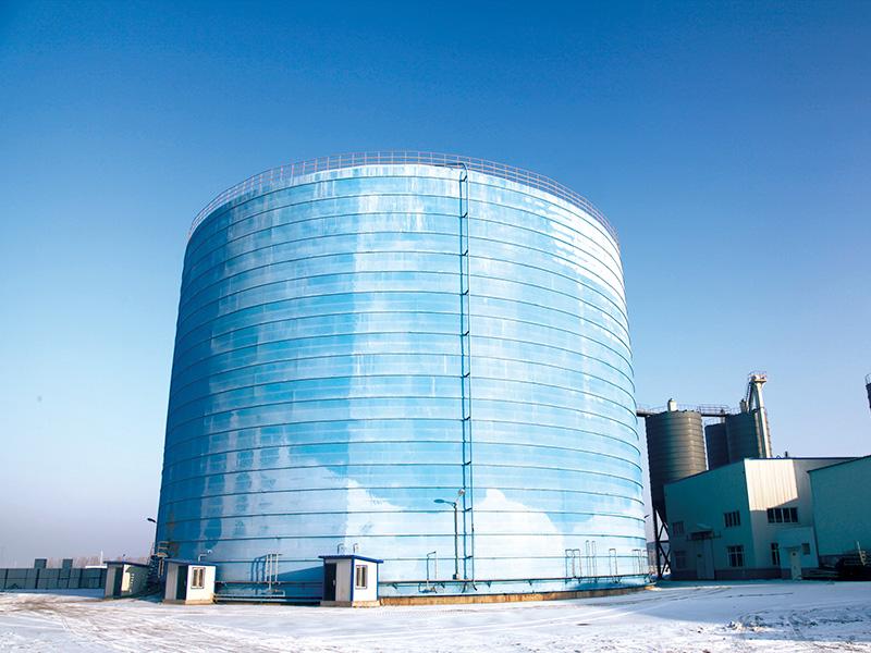 包鋼集團5萬噸鋼板倉工程