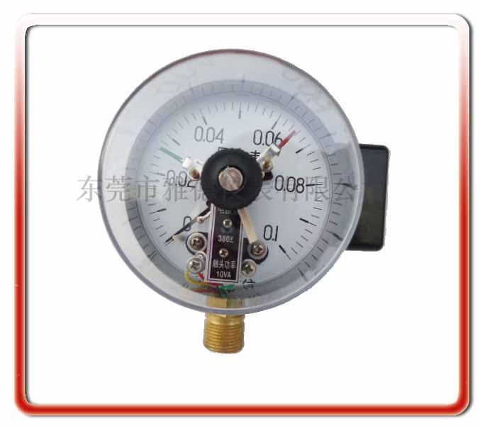 150MM徑向普通電接點壓力表