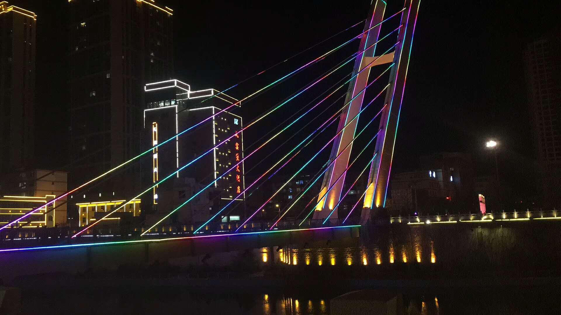 陜西-延安子長縣吊橋