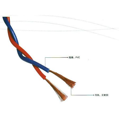 RVS型300/300V銅芯聚氯乙烯絕緣絞型連接用軟線