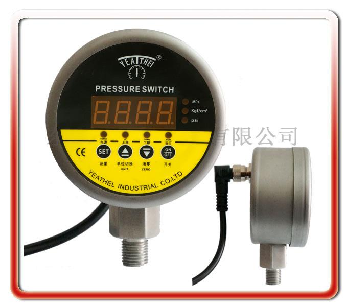 全不銹鋼數顯式電接點壓力表