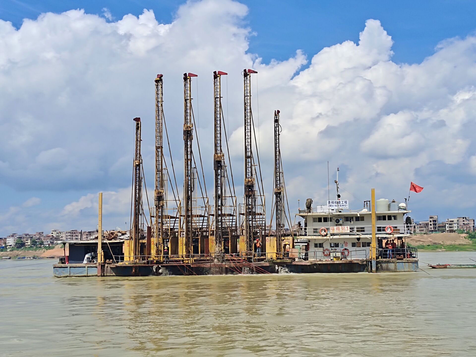 梧州西江航運干線貴港至梧州3000噸級航道工程二期工程施工№1標段項目