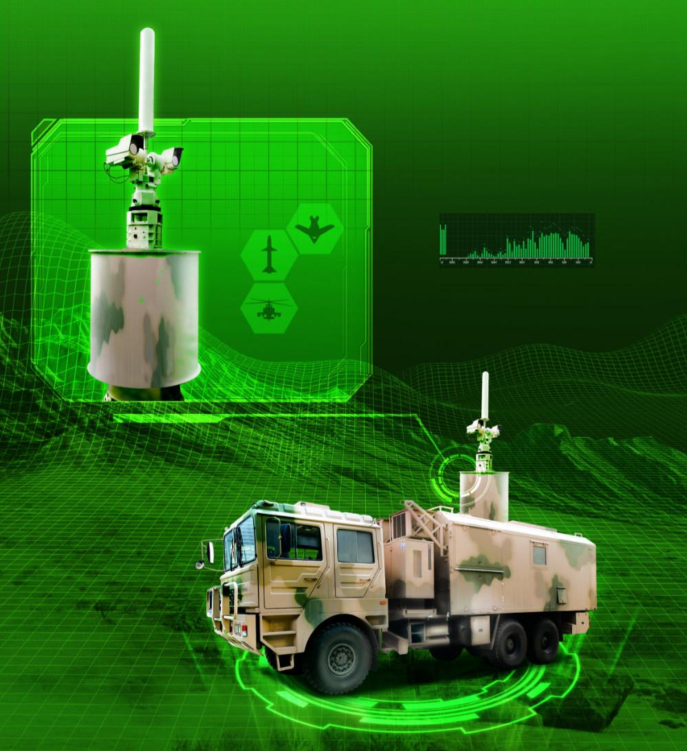 TH-S317光雷一體低空監視系統