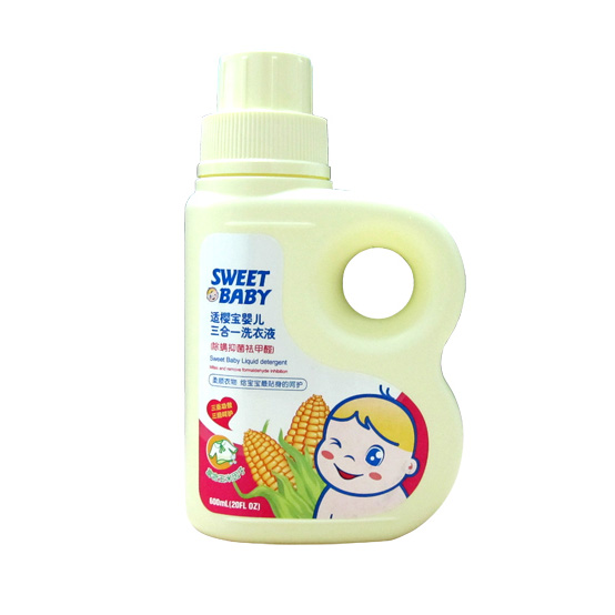 適櫻寶 嬰兒玉米洗衣液(3合1)600ml