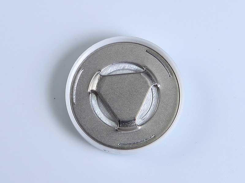 圓柱鋰電用蓋帽(正極安全閥)