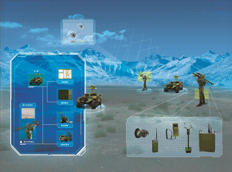 TH-S311 便攜式防空導彈指揮系統