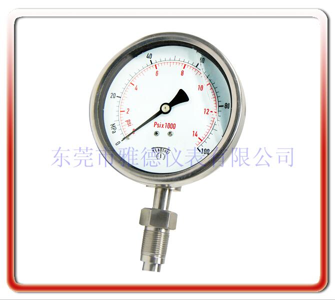 衛生防震壓力表