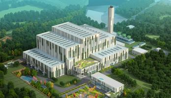 上海環境集團洛陽垃圾焚燒發電廠